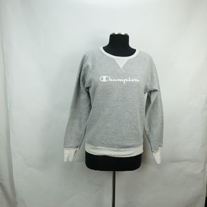 Champion Spell Out Logo Sweat Shirt S